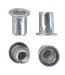 Шестигранная гаечная заклепка (клепальная гайка) стальная шестигранная с цилиндрическим буртиком открытая