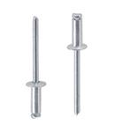 Заклепка вытяжная алюминий/сталь 2,4 х 4 стандартный (плоский) буртик