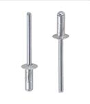 Заклепка вытяжная многозажимная алюминий сталь стандартный (плоский) буртик
