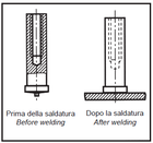 Втулка для приварки (втулка под конденсаторную сварку)