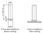 Штифт для приварки и другие изделия (штифт под конденсаторную сварку)