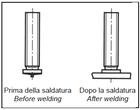 Винт для приварки (винт под конденсаторную сварку)