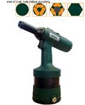 Пневмогидравлический инструмент RIVETEC RL6100 для преобразования круглого отверстия в шестигранное