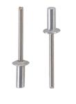 Заклепка вытяжная герметичная алюминий/нержавеющая сталь А2 со стандартным буртиком